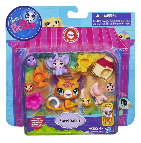 Sweet Safari Pet And Pet Friends Littlest Pet Shop