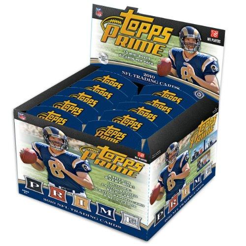 Nfl 2010 Topps Prime Card (10 Packs)