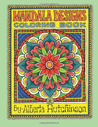 Mandala Designs Coloring Book No. 1: 35  New Mandala Designs (Sacred Design Series)