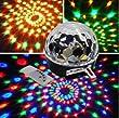 L'arriv�e de Nouveaux Club Disco DJ Party Billes Lumi�res Musique MP3 T�l�commande Couleurs Changeantes Mini Effect LED �tape de Laser �clairage Spiders Web Net Lumi�res