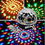 L\'arrivée de Nouveaux Club Disco DJ Party Billes Lumières Musique MP3 Télécommande Couleurs Changeantes Mini Effect LED étape de Laser éclairage Spiders Web Net Lumières