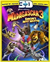 Madagascar 3: Europe's Most Wanted (3 Discos) [Blu-Ray 3D]