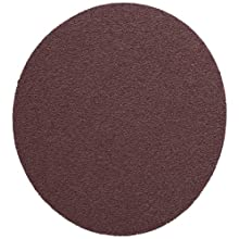 "3M PSA Cloth Disc 348D, X Weight Cloth, PSA Attachment, Aluminum Oxide, 5"" Diameter, P120 Grit, Brown (Pack of 50)"