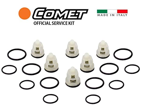 Comet Pump 5025.0030.00 Pressure Washer Pump Valve KIT AWD, BWD and ZWD-K Pumps