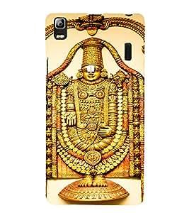 EPICCASE Lord balaji Mobile Back Case Cover For Lenovo A7000 (Designer Case)