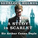 A Study in Scarlet: A Sherlock Holmes Novel Audiobook by Sir Arthur Conan Doyle Narrated by Simon Prebble