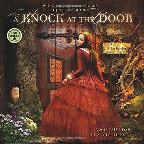 A Knock at the Door 2016 Fantasy Wall Calendar - Angi Sullins