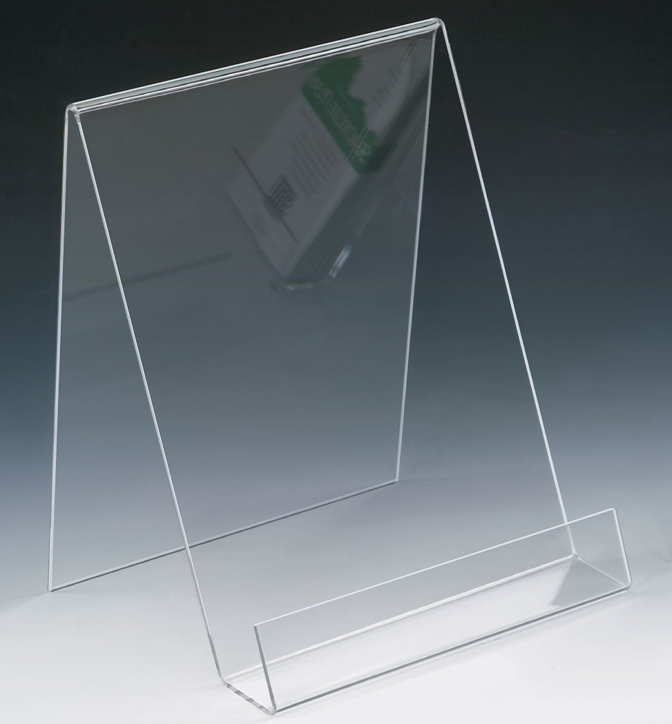 Source One 8-1/2 X 11 Inches Premium Clear Acrylic Easel