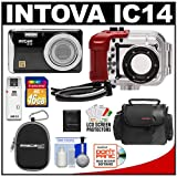 Intova IC14 Sports Digital Camera with 180' Waterproof Housing (Black) with 16GB SD Card + (2) Cases + Accessory Kit Reviews
