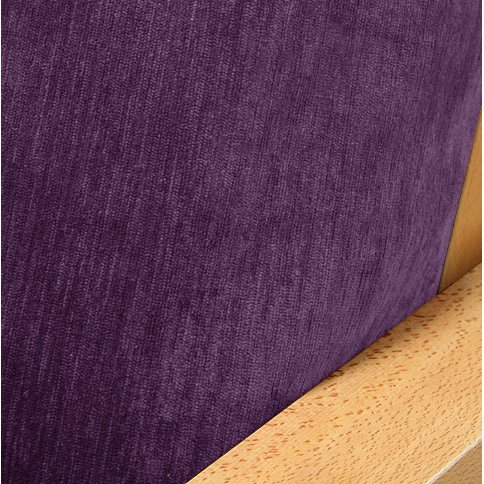 Chenille Deep Purple Futon Cover Queen 238 front-1032213
