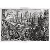 Greetings Card: 'Circus Maximus' by Piranesi