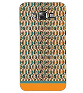 PrintDhaba Owl Pattern D-1681 Back Case Cover for SAMSUNG GALAXY GRAND 3 (Multi-Coloured)