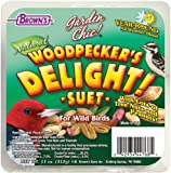 F.M. Browns Garden Chic Suet and Bread Cakes, 11-Ounce, Woodpeckers Delight
