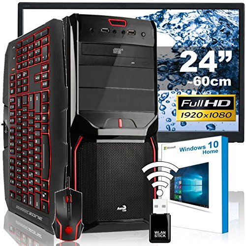 AGANDO-Silent-Gaming-PC-Komplettpaket