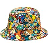 Pokemon Characters All Over Print Sublimated Bucket Hat [Adult]