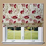 Poppy Chenille Lined Roman Blind With Fittings (6ft)