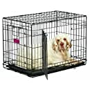 MidWest Homes for Pets Life Stages ACE Double Door Dog Crate, 30-Inch