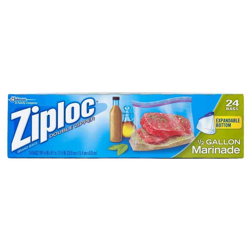 Amazon Com Ziploc All Purpose Half Gallon Marinade Bags