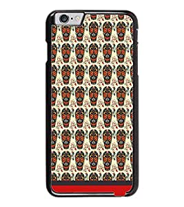 PrintDhaba Pattern D-1635 Back Case Cover for APPLE IPHONE 6 (Multi-Coloured)