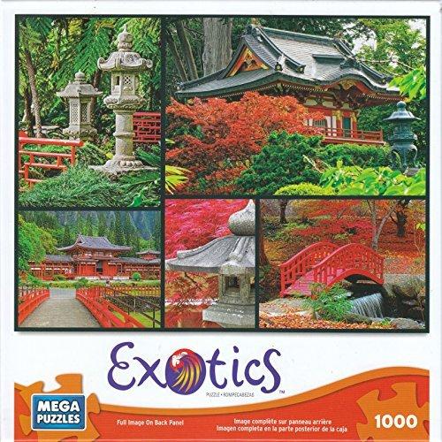 Japanese Gardens 1000 Piece Exotics Mega Puzzle