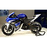 Blue White Black Injection Fairing Cowl Kit for 2014-2016 Yamaha YZF R3 R25 2014