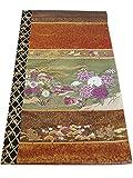 博多着物市場 きものしらゆり フォーマル 西陣織 じゅらく 帝王紫 朧銀華 高級 袋帯 正絹 仕立て上がり