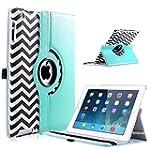 iPad 2/3/4 Case,ULAK 360 Rotating Mag...