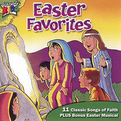 Original album cover of Easter Favorites by Cedarmont Kids