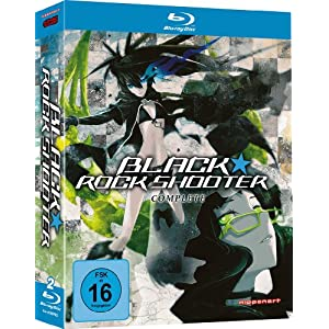 Black Rock Shooter - Gesamtausgabe [Blu-ray] [Import allemand]