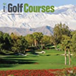 Golf Courses 2016 Square 12x12 Wall C...