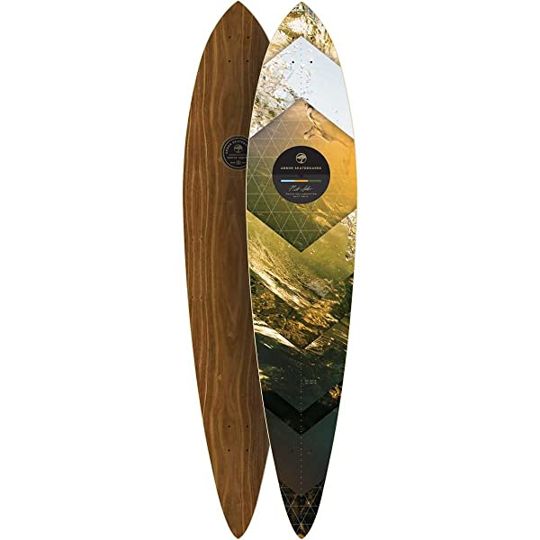 Arbor Timeless Longboard Deck, Walnut
