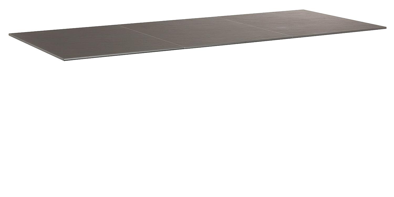 KETTLER Advantage Esstische Kettalux Plus Tischplatte 220 x 95 cm Schieferoptik, braun