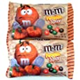Pumpkin Spice M&Ms Chocolate Candies 9.9 oz. Bag (2 Pack)