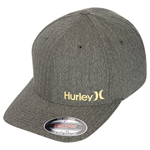 Hurley -  Cappellino da baseball  - Uomo Army Green Large / X-Large