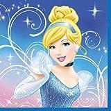 Disney 41552 Cinderella Luncheon Napkins - 16 Per Pack