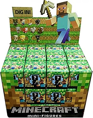 Minecraft Mystery Mini Figure Case of 36 Figures from Mattel