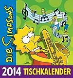 Die Simpsons Tischkalender 2014
