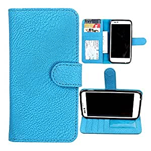 For Nokia Lumia 435 - DooDa Quality PU Leather Flip Wallet Case Cover With Magnetic Closure, Card & Cash Pockets