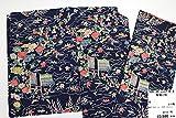 【983153】5月29日号 正絹 縮緬 小紋 はぎれ を使って リメイク、裂き織り、つるし雛、リフォーム等の、和柄の素材としてどうぞ 着用を想定した販売ではありません(SEN) 【店頭で通常販売していた商品の大処分】