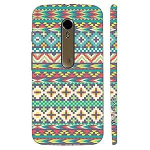 Enthopia Designer Hardshell Case Arrow Aztec Back Cover for Motorola Moto X Style