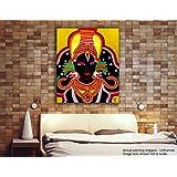 Tamatina Kerala Mural Canvas Paintings - Jai Jagannath - Sri Krishna - Traditional Canvas Paintings