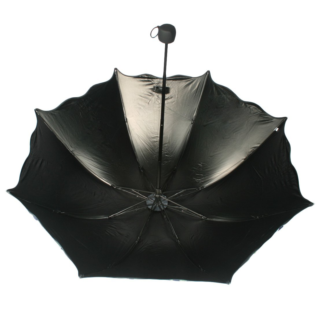 kilofly Anti-UV Folding Travel Parasol Vintage Floral Rain Sun Shade Umbrella 1