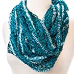 Peacock Eyelash Scarf