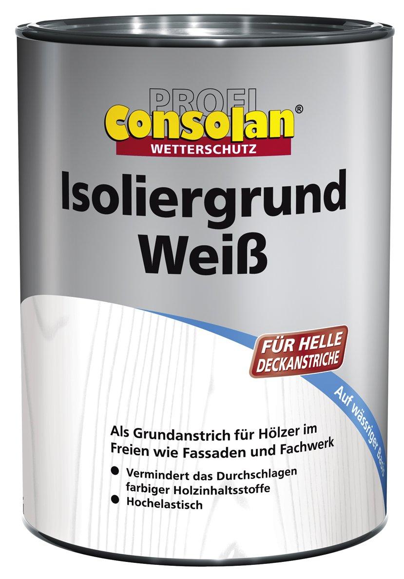 Consolan Profi Isolier Grund weiß 10 Liter  BaumarktKundenbewertung und Beschreibung
