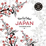 Vive Le Color! Japan (Coloring Book): Color In: De-Stress (72 Tear-Out Pages)