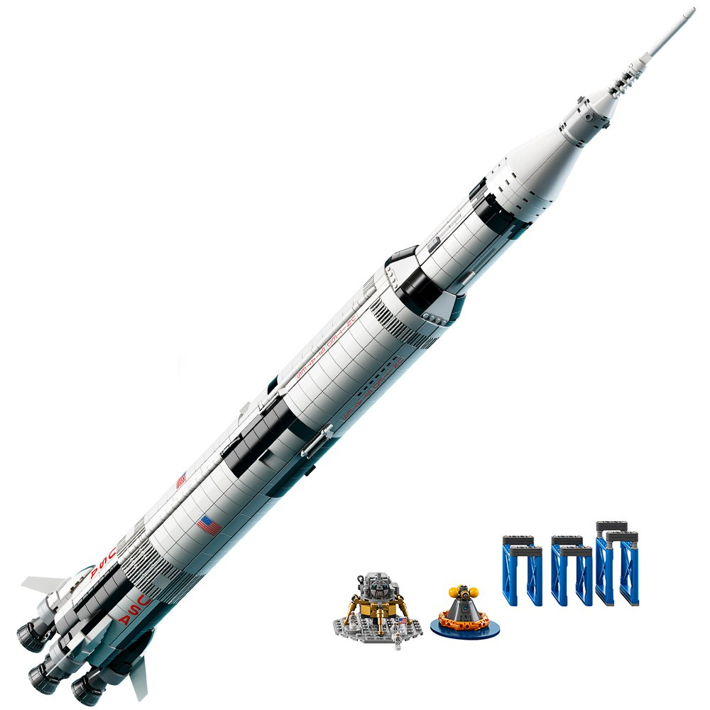 Apollo Saturn V Rocket 0673419277150/