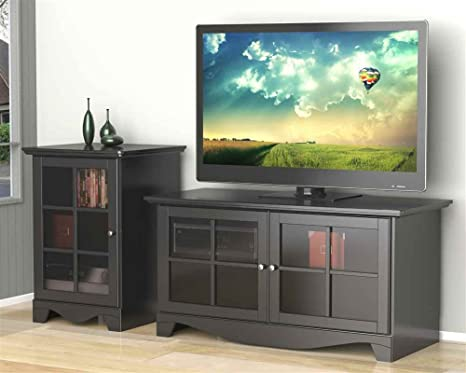 Eco-Friendly TV Stand with Audio Tower