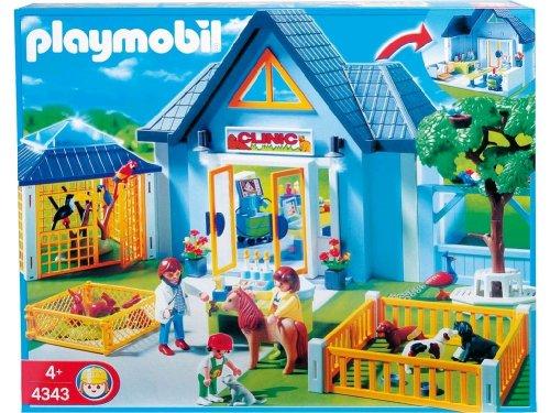 Jouet : Playmobil - 4343 - Clinique vétérinaire