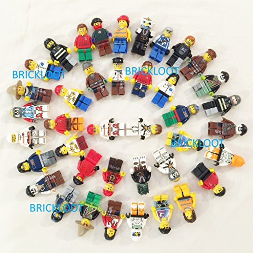 12 RANDOM Lego Mini Figures ~ Brand New ~ Random Assortment of Mini Figs w/all body parts; hat, hair or helmet. New High Quality LEGO product (Lego Minifigures Body Parts compare prices)