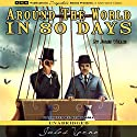 Around the World in 80 Days Hörbuch von Jules Verne Gesprochen von: Brian Hall